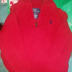 2T polo sweater